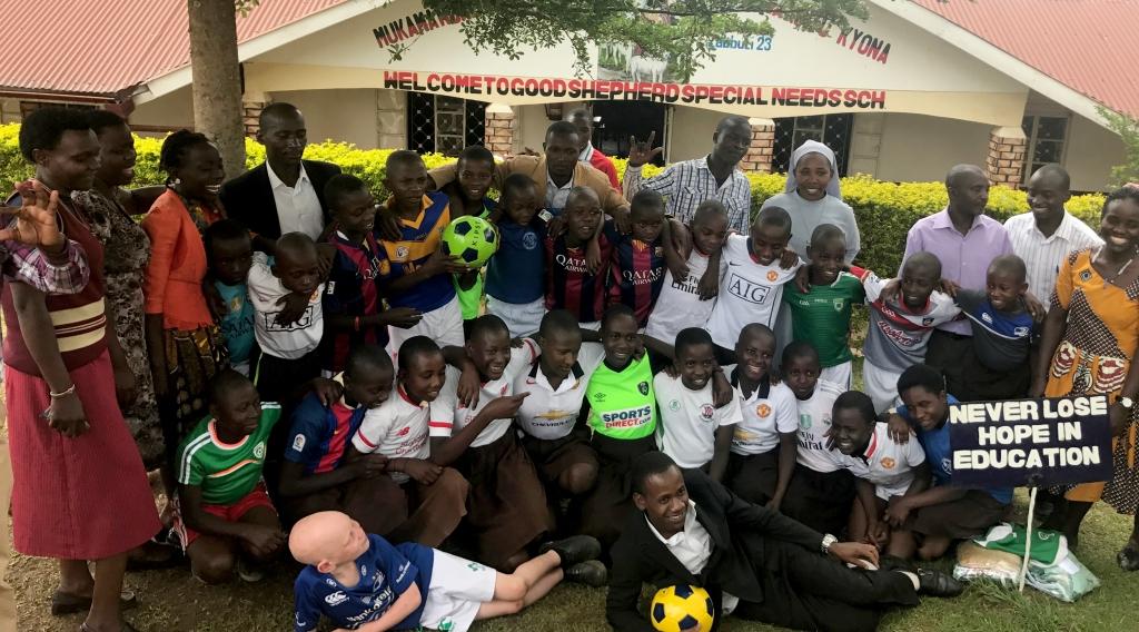Good Shepherd School, Fort Portal, Uganda Primary School for children with special needs.